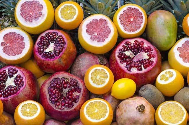 vitamina c en alimentos